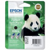 &Epson Ink Cart Blk 2PK T50142/T05014210