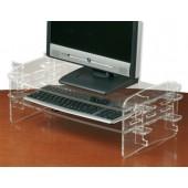 Compucessory Adj Monitor/keyboard stand
