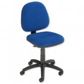 #Trexus Office MB Fixed Chair Blue