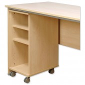 Tercel Post Mobile Shelf Unit Mpl