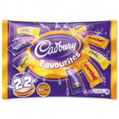 Cadburys Favorites Bag 350g A06966