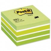 Post It NotePastel Grn 3x3 2028G