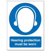 Hearing Protect Must Be Worn M002SAV