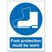 Foot Protection Must Be Worn M003SAV