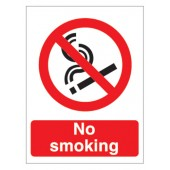 No Smoking P089PVC