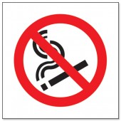 &No Smoking Logo 150X150 P097PVC