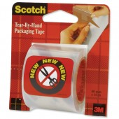 Scotch Tear By Hand Packing Tape E5016C