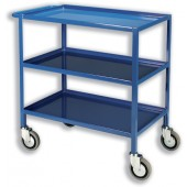 Eel Tray Trolley 3 Tier Blue TT03