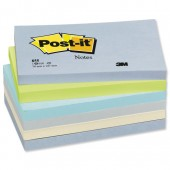 PostIt Cool Pastel 3x5 655ML