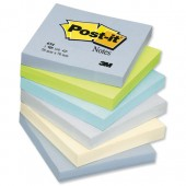 PostIt Cool Pastel 3x3 654ML
