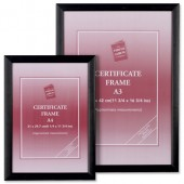 Photo Album Cert Frame A4 PAWFA4B-BLK