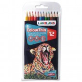 Lland C/thin Pencils Astd PK12 0700077