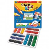 Bic Kids Evolution Pencils Colour Splinter-proof Wood-free Vivid Assorted Ref 887830 [Pack 144]