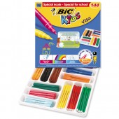 Bic Kids Visa FeltTip Pens Bx 144 880504