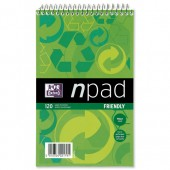 Npad Rcyc Shnd Bk Ruled 120 Pg 100080120
