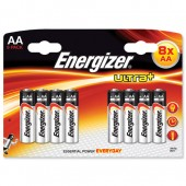 Energizer Ult/Plus Battery AA Pk8 632854