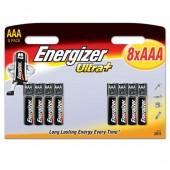 Energizer UltPlus Battery AAA Pk8 628160
