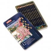 &Derwent Inktense Pencils Pk 12 0700928