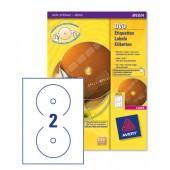 Full Face DVD Labels Colour Lsr L7776-25