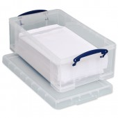 RUP 12L Clear Really Useful Box