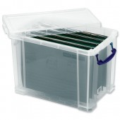 RUP 19L A4 Filing Box with 10 Susp files