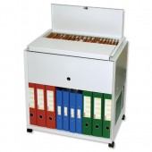 Rotadex Universl File Trolley RT50LS Gry