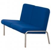 #3*TrexusP Recep Sofa Blue
