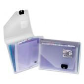 Snopake Multi Organiser 6Pt A4 Clr 15172