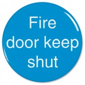 OfficeSign Fire Door Keep Shut60mm CV009
