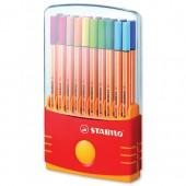 Stabilo Pnt88 Fliner Pens Ast20 8820/03