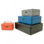 Helix Cash Box 10in Grey WN8090