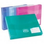 Rexel Ice Doc Box 60mm Clear 2102031