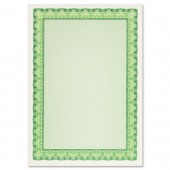 Decadry Certificates Emerald Green Pk25