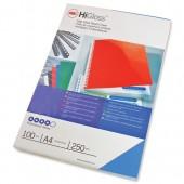 Acco HiGlssCvrA4 250gsmBluPk100 CE020020
