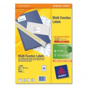 Avery Mfnl Labels 38.1x21.2 Pk40 3667