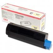 &Oki Toner Cartridge Yellow 42804545
