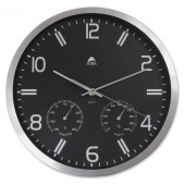 Alba Wall Clock-Temp&Hygrometry HORMET