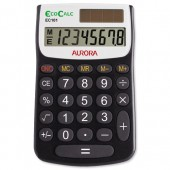 Aurora EcoCalc Handheld Calculator EC101