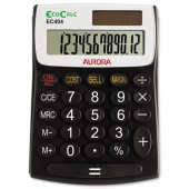 Aurora EcoCalc Semidesk Calculator EC404
