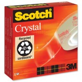 3M Scotch Crystl Tpe  19mm x 33m 6001933