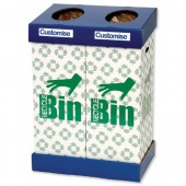 Acorn Office Twin Recycling Bin 802853