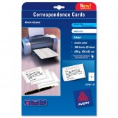 &Avery Copd Card IJet White C2318-25