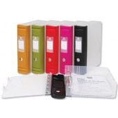 Emgee Chunkee BoxBinder A4 Red 400607