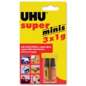 UHU Super Glue Minis  1g Pk345415