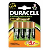 Duracell Stay Charge AA 75071752 Pk4