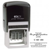 &Colop Printer 54 Custom Date Text Stamp