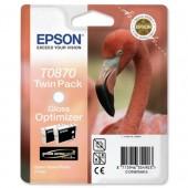 Epson R1900 Gloss Opt 2Pk C13T08704010