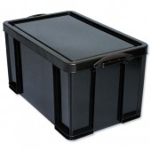 RUP Recycled Storage Box Black 84 Litre