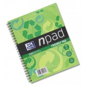 Oxford Npad recycled A6 80 pge 100080452