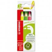 Stabilo Grnlighter Hler Pcil Ast3 6007/3